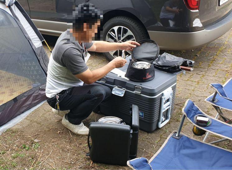 내장산국립공원백암사무소 '가을 성수기 불법행위 집중단속' 실시