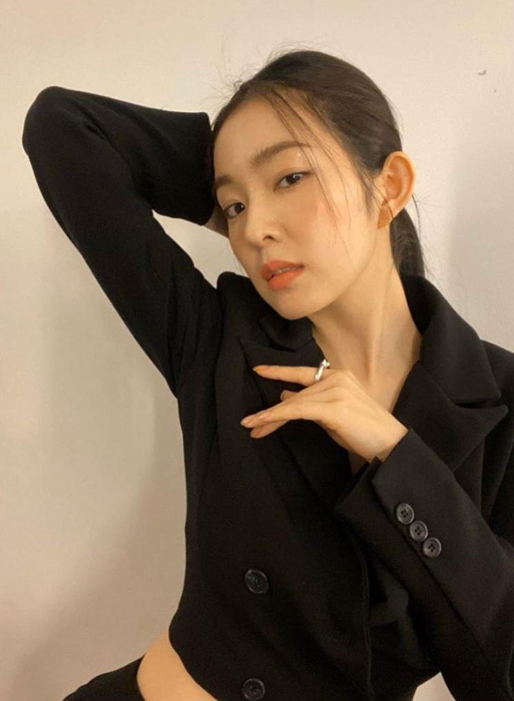 레드벨벳 아이린. 사진=아이린 인스타그램 캡처.
