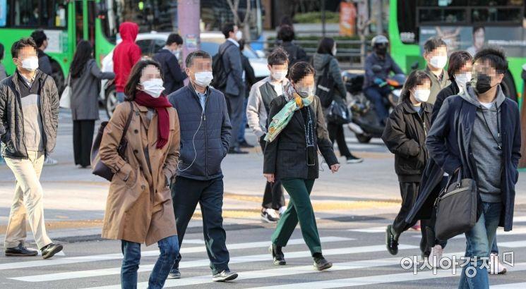 [포토]서울 아침 기온 5도