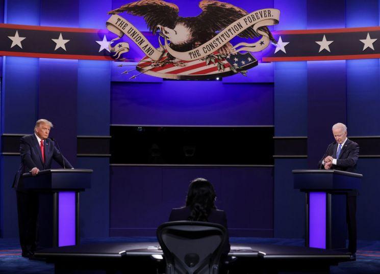 도널드 트럼프 미국 대통령과 조 바이든 민주당 대통령 후보 [이미지출처=로이터연합뉴스]