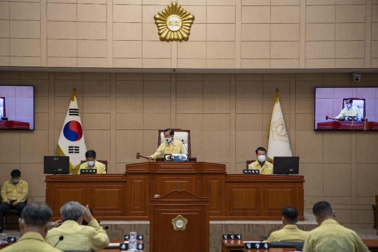 고흥군의회, 제292회 임시회 폐회