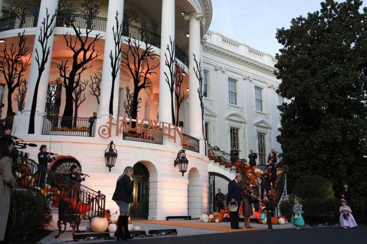 지난해 열린 백악관 핼러윈 행사. (사진=AP연합뉴스)