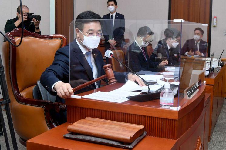 윤호중 국회 법제사법위원장.(이미지 출처=연합뉴스)