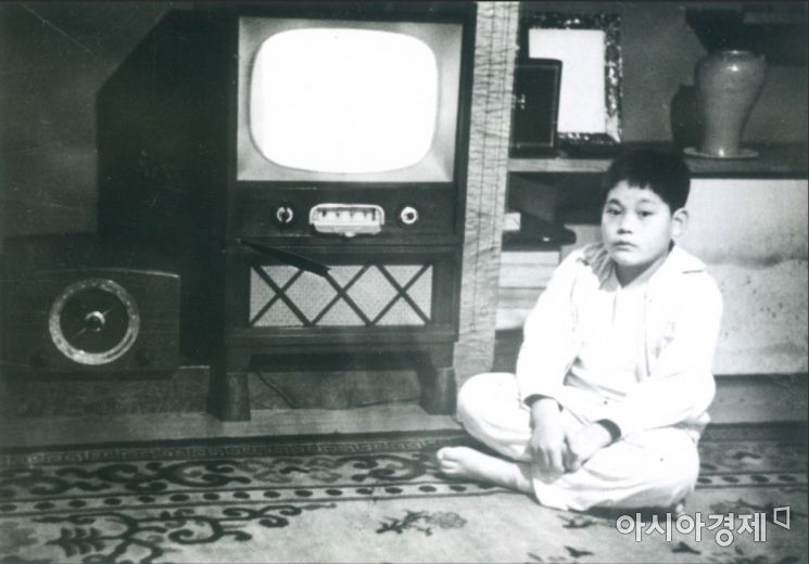 유년시절 이건희 회장(사진제공 : 삼성)