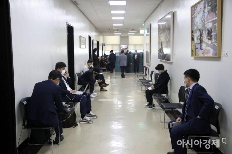 [포토] 한산한 국정감사 마지막날