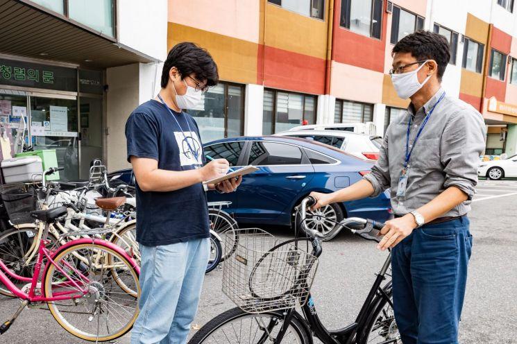 광진구 '재생 자전거' 이웃에게 전달