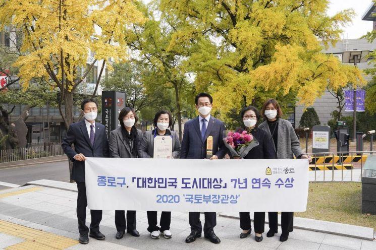 종로구, 대한민국 도시대상 7년 연속 수상