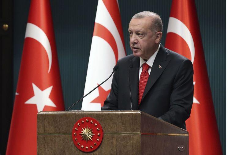 레제프 타이이프 에르도안 터키 대통령 [이미지출처=AP연합뉴스]