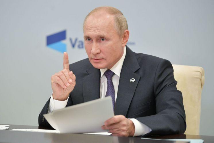 블라디미르 푸틴 러시아 대통령 [이미지출처=EPA연합뉴스]
