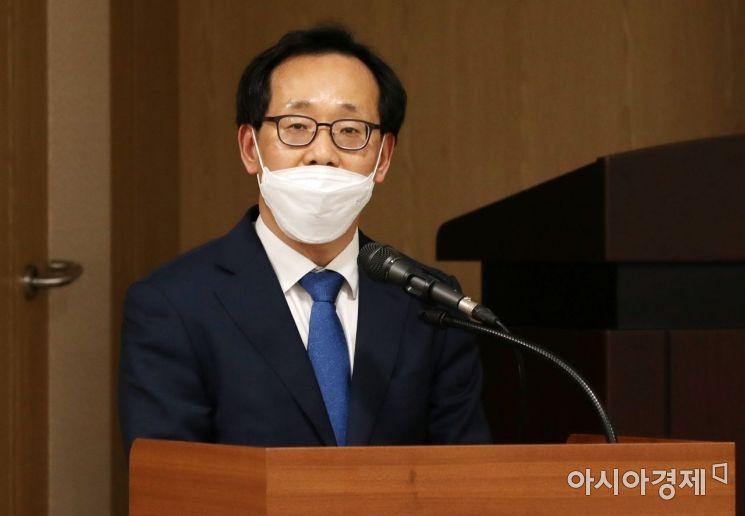 [포토]김흥진 국토교통부 주택토지실장 축사