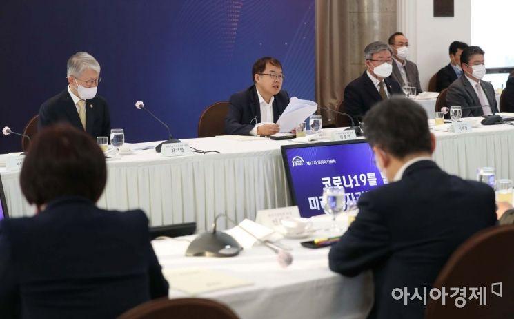 [포토]발언하는 김용기 부위원장