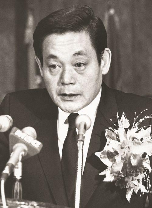 1987년 삼성 회장에 취임한 이건희 회장(사진제공 : 삼성)