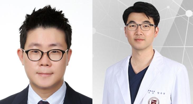 서정목(왼쪽), 장우영 교수