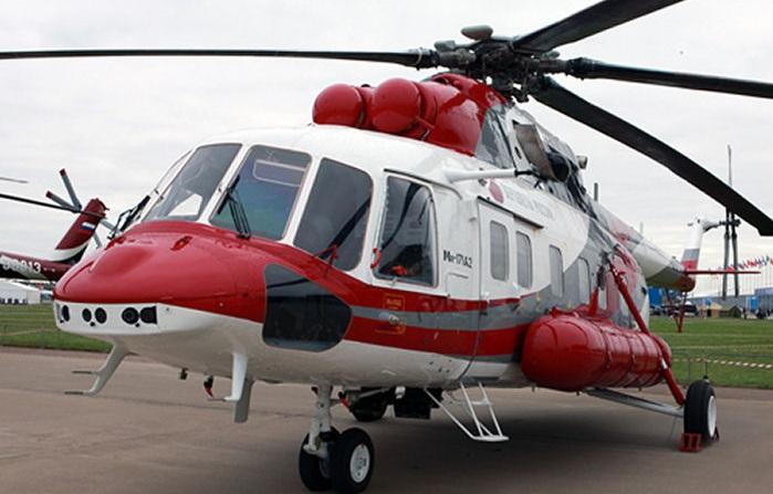 지난 9월 국토교통부 인가를 받은 러시아 민간헬기 Mi-171A2의 모습[이미지출처=러시아 국영 로스텍]