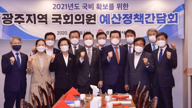 이용섭 광주시장, 현안 해결·국비확보에 동분서주