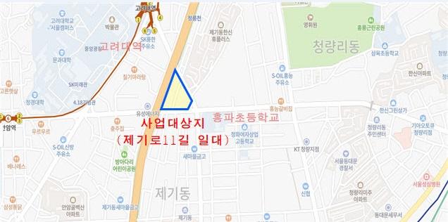 동대문구 제기동 골목길 재생사업 사업비 11억 원 확보