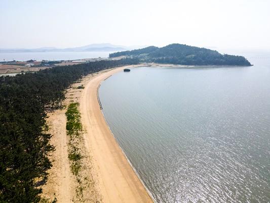송계해변 (사진=무안군 제공)