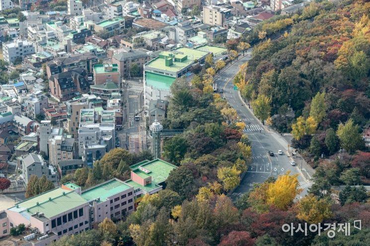 [포토]가을 도심
