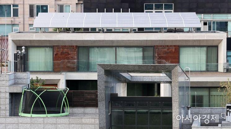 서울 강남구 논현동 이 전 대통령 자택 모습./김현민 기자 kimhyun81@