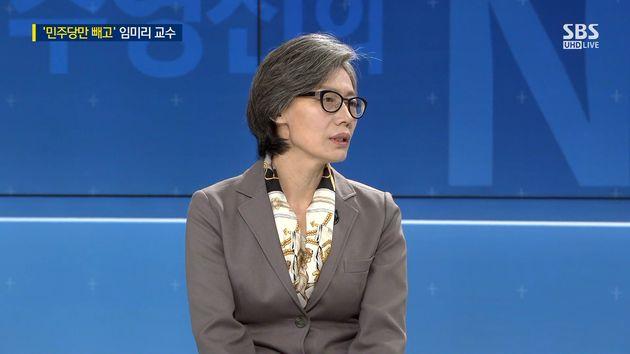 임미리 고려대 교수 / 사진=SBS 방송 캡처