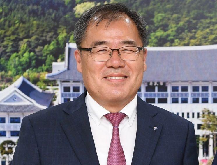 신임 하인성 경북테크노파크 원장.