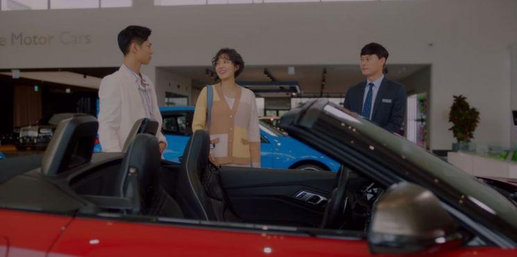 tvN 청춘기록에 등장하는 BMW Z4 로드스터