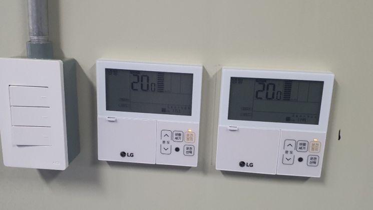 계절과 관계 없이 ESS동의 온도를 섭씨 20℃로 유지해야 열 전환에 따른 ESS 스파크 발생 및 화재 위험 가능성을 줄일 수 있다.(사진=문채석 기자)