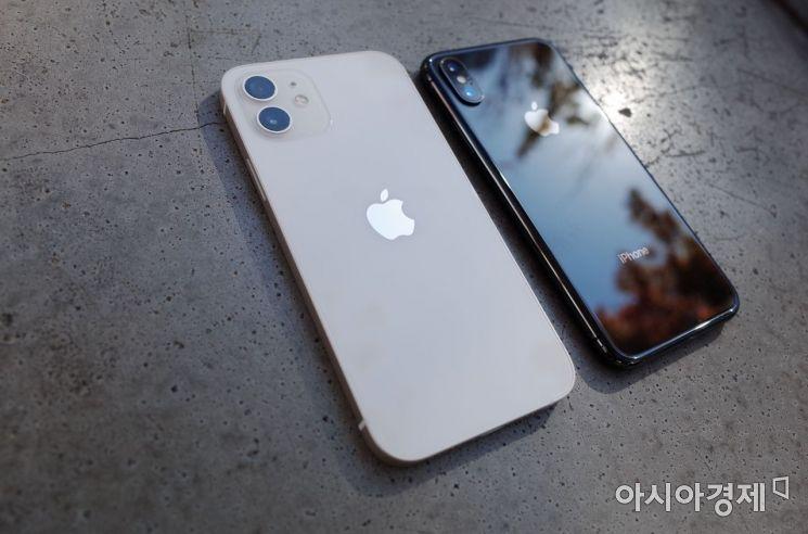아이폰12와 아이폰X