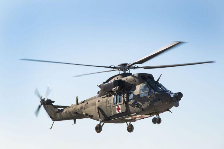 KAI, 국산 의무후송전용헬기 軍 최종호기 인도