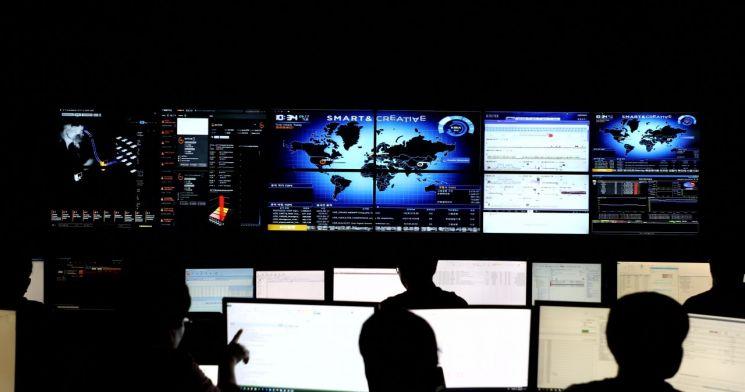 한화시스템 데이터센터 통합관제실
