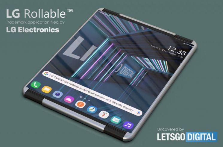 레츠고디지털이 만든 LG 롤러블 스마트폰 렌더링 이미지