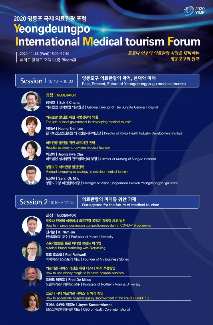 영등포구, 국제 의료관광 포럼 개최