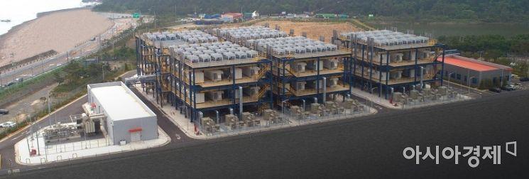 사진은 기사와 무관. 대산 수소연료전지 발전소.