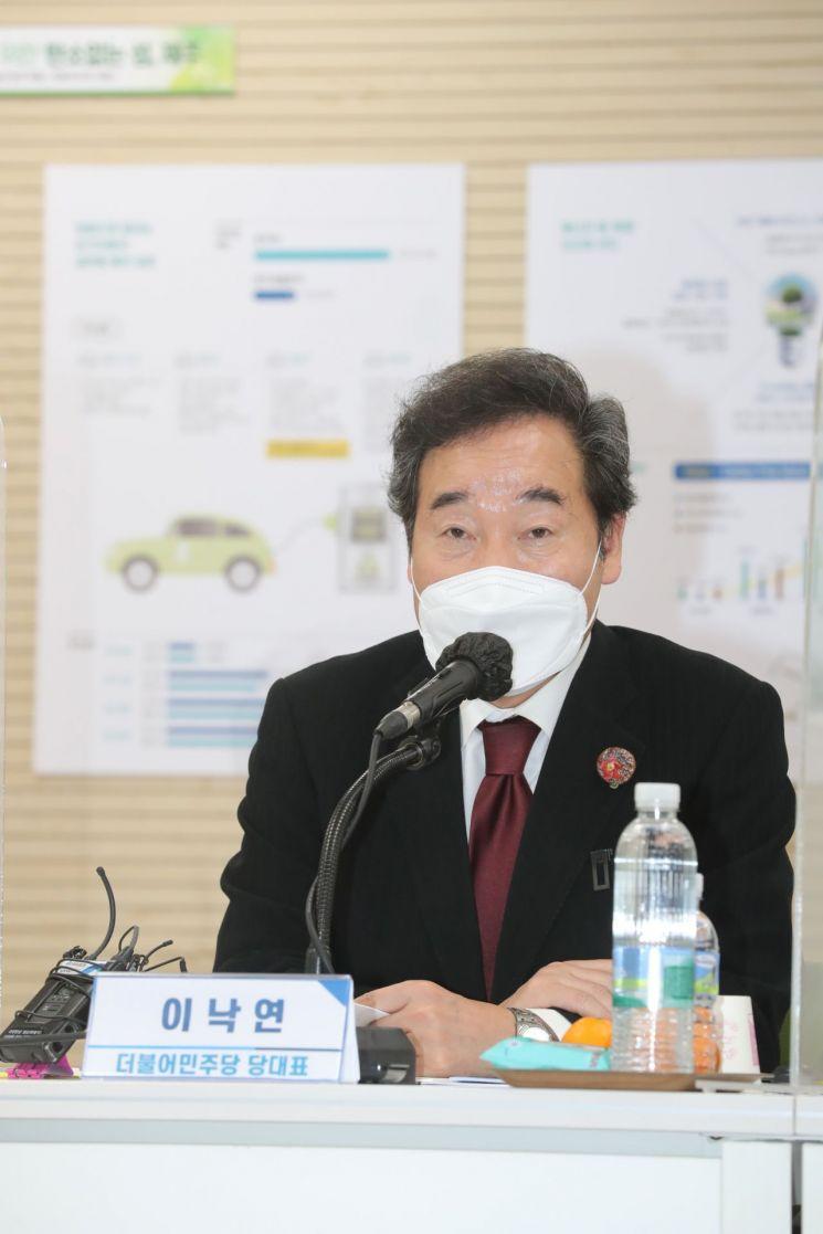 이낙연 더불어민주당 대표. [이미지출처=연합뉴스]