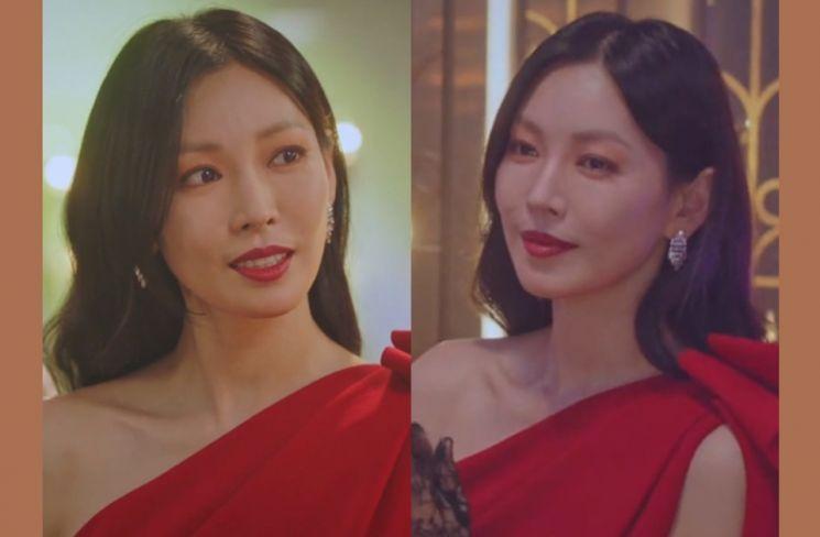 [라이뷰]욕망의 프리마돈나, '펜트하우스' 김소연 마라맛 룩