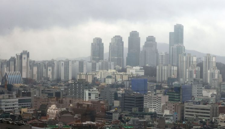 19일 오후 서울 강남구 아파트 단지 일대. / 사진=연합뉴스