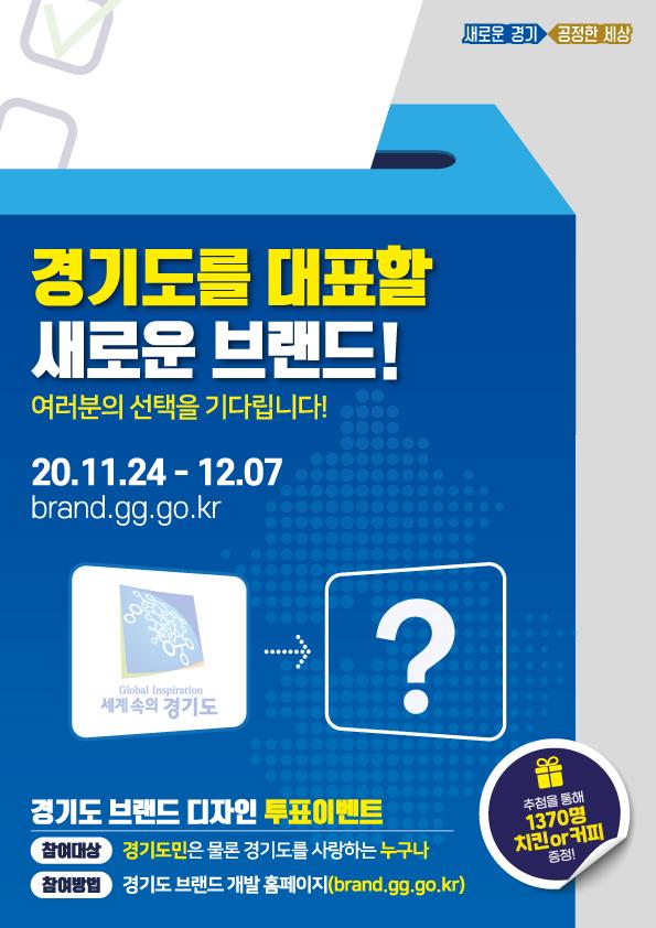 경기도 새 대표상징물(GI) 온라인 투표로 선정한다