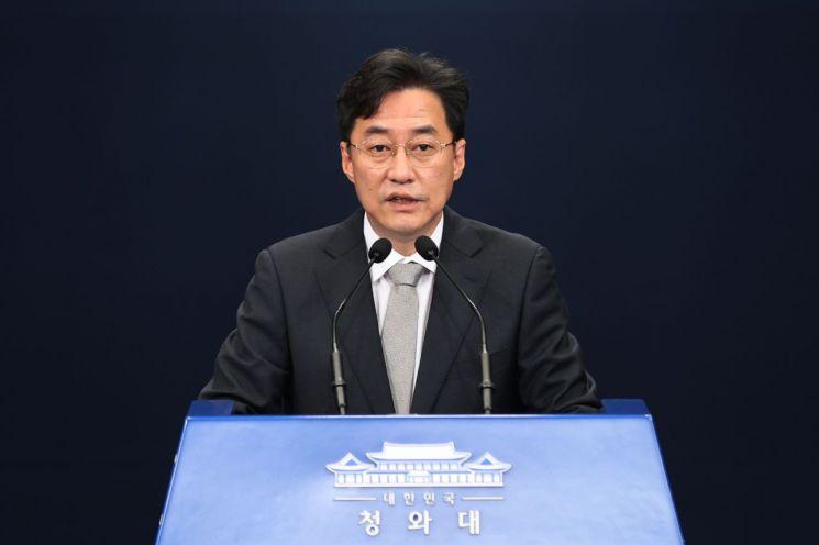 강민석 청와대 대변인 [이미지출처=연합뉴스]
