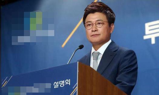 SNS 등에 무단 도용되고 있는 김성주 합성 사진. 사진=온라인 커뮤니티 캡처.