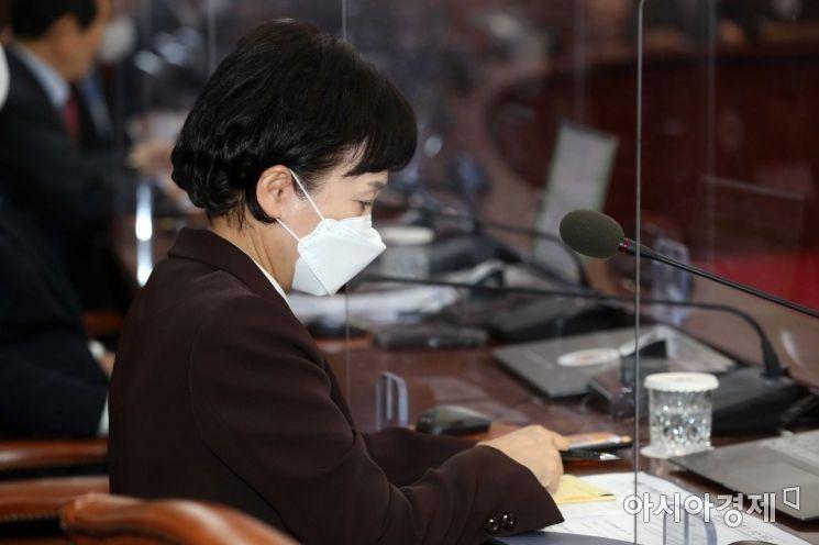 [포토]김현미 장관의 고민