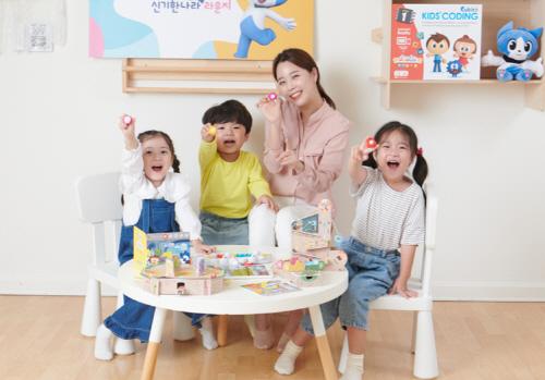 한솔교육 유아 공부방 신기한나라 라운지, 10개월 만에 800호점 돌파