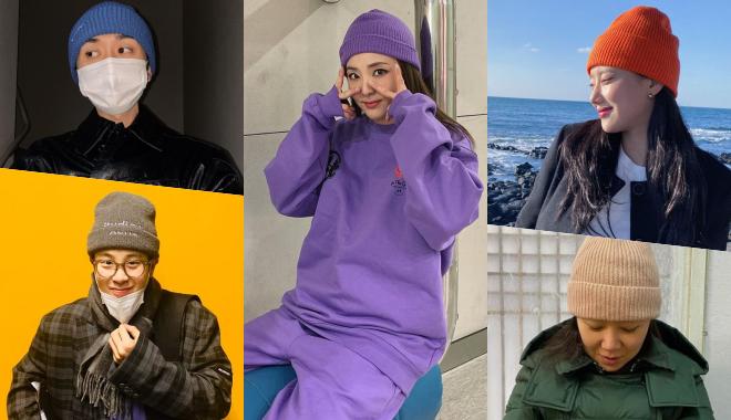 사진=코드 쿤스트, 피오, 산다라박, 나은, 공효진 인스타그램