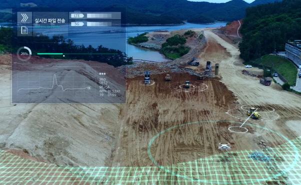 [다시뛰자 건설코리아]드론 측량, 로봇시공 '스마트 K건설'로 명성 잇는다