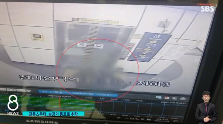 사진=SBS '8뉴스' 방송화면 캡처.