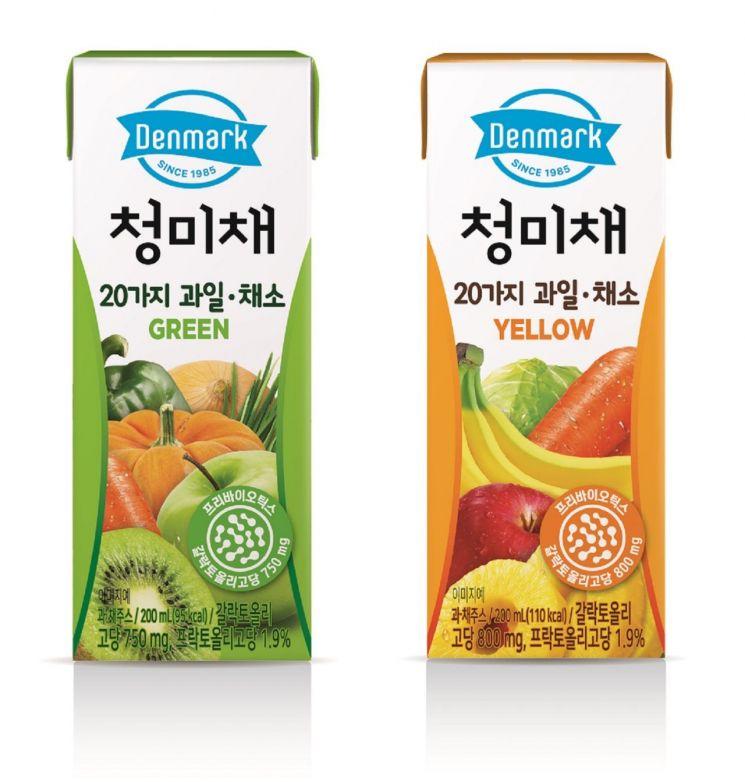 동원F&B, 무농약 수경재배 청미채 넣은 주스 '덴마크 청미채' 2종 출시