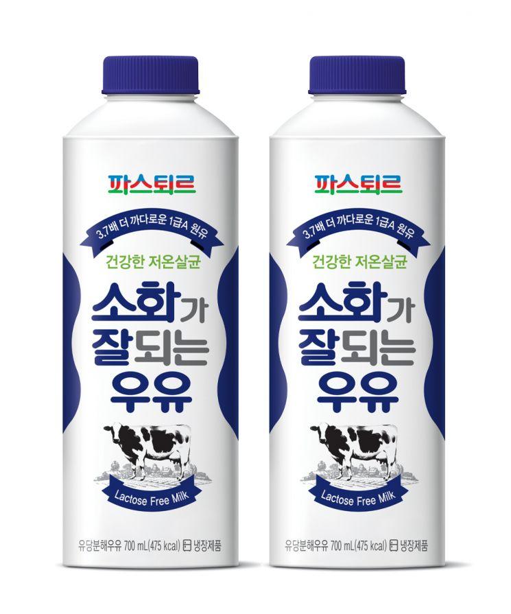 롯데푸드 파스퇴르, 소화가 잘되는 우유 출시