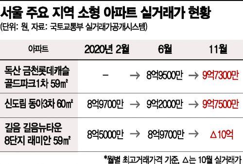 서울 외곽 25평도 10억…멈추지 않는 '패닉바잉'