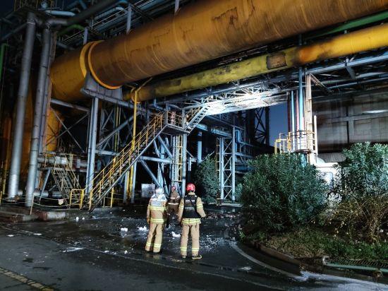 경찰, 작업자 3명 사망 포스코 광양제철소 폭발 사고 본격 수사