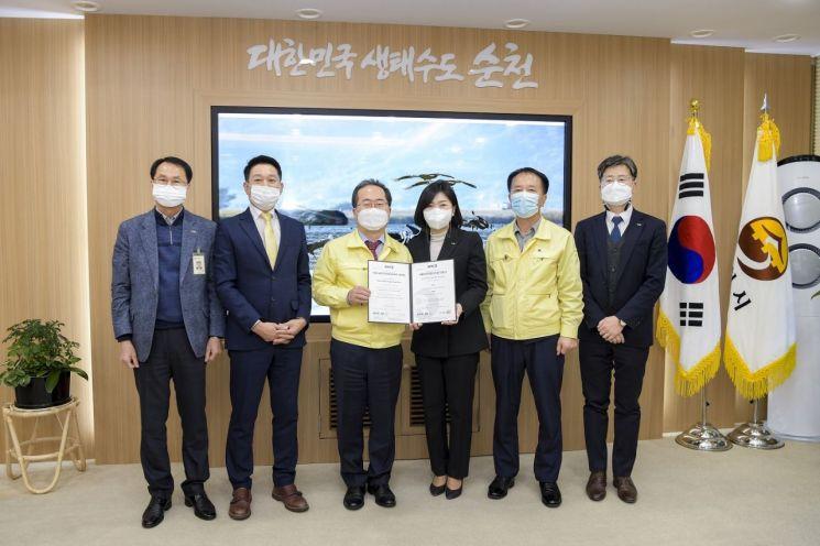 순천시 수돗물, 전남 최초 ISO22000 인증 획득