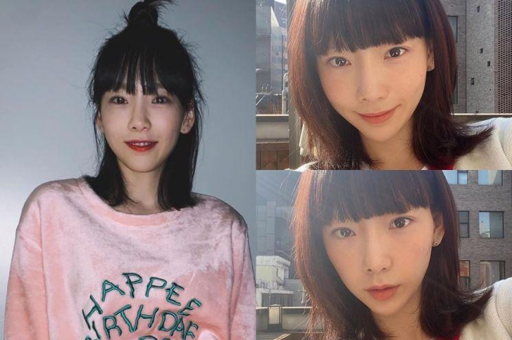 그룹 소녀시대 태연. 사진=태연 인스타그램